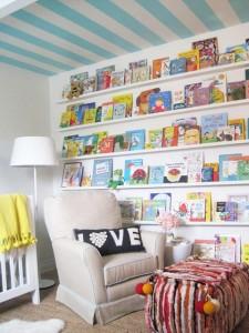 15 Great Bookshelves for Kids